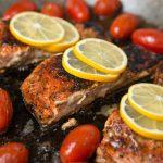 6-Ingredient Wild Salmon Fillets
