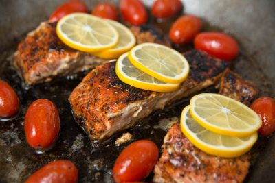 6-Ingredient Wild Salmon Fillets